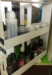 Distress Inks and Stains Storage