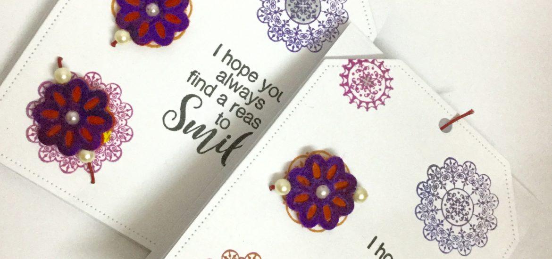 Handmade Rakhi Card